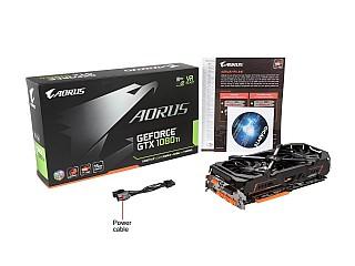 כרטיס מסך GIGABYTE AORUS GeForce GTX 1080 Ti DirectX 12 GV-N108TAORUS-11GD  11GB 352-Bit GDDR5X PCI Express 3 0 x16 ATX Video Card - ₪4,509 00